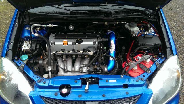 Engine Bay - 2004 Honda Civic EP3 (Blue) - Gallery ...