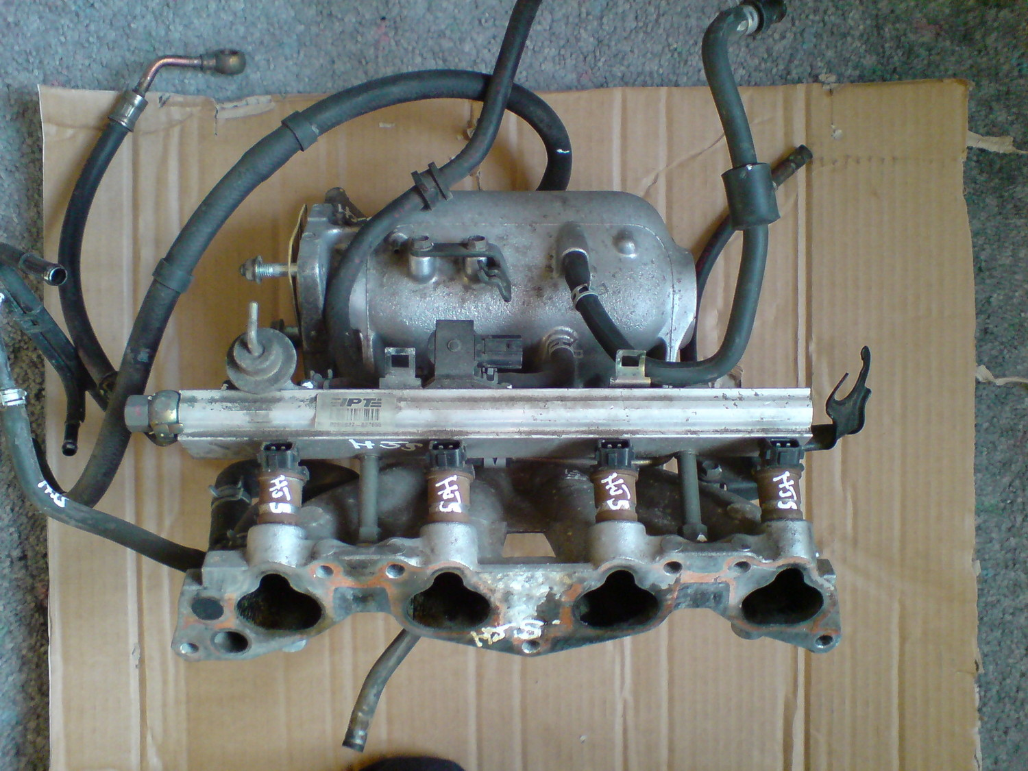 My D16Y8 / D17A2 Intake Manifold Conversion Project