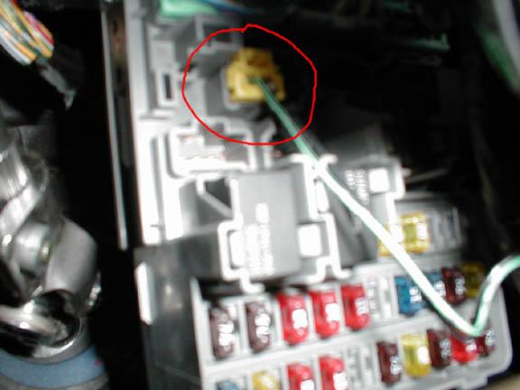 2_srs_plug_1 Acura Rsx Under Dash Fuse Box Diagram on